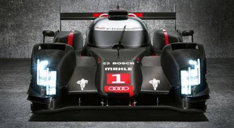 CarRevsDaily.com - Laser Lighting for 2014 AUDI R18 LeMans 48