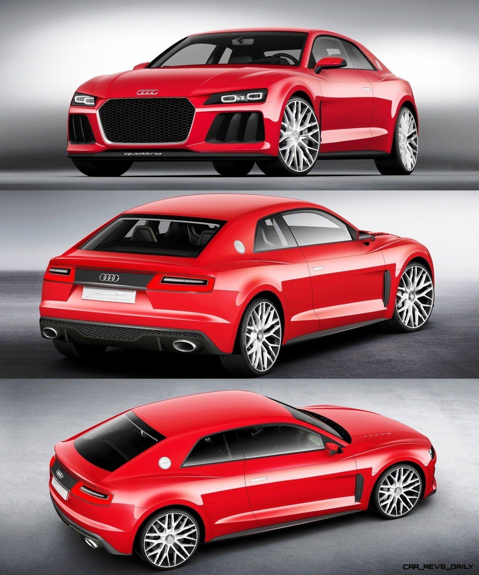 All-New 2015 Audi TT Set For Geneva Debut -- Design