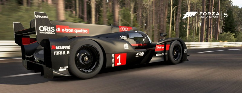 CarRevsDaily.com - Laser Lighting for 2014 AUDI R18 LeMans 59