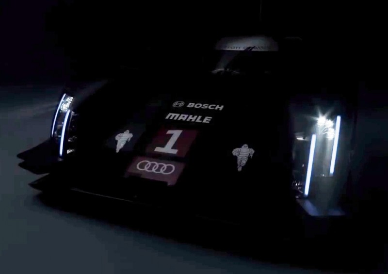 CarRevsDaily.com - Laser Lighting for 2014 AUDI R18 LeMans 6