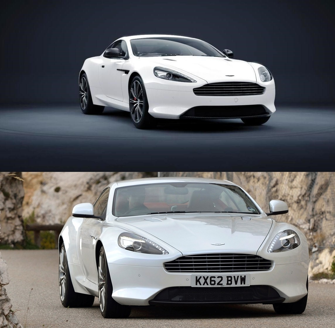 Codename 001 -- DB9 Carbon White Coupe 29-vert