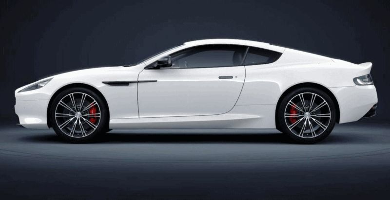 Codename 001 -- DB9 Carbon White Coupe 90