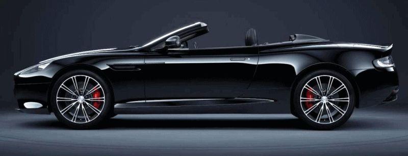 Codename 002 -- DB9 Carbon Black VOLANTE GIF
