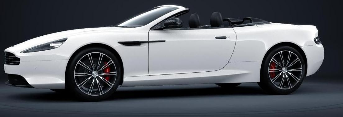 Codename 004 -- DB9 Carbon White VOLANTE 7