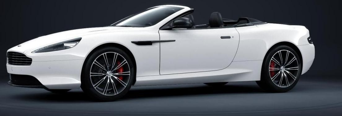 Codename 004 -- DB9 Carbon White VOLANTE 9