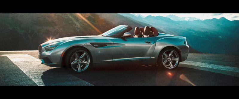 Concept Flashback - 2012 BMW Zagato Z4 Roadster GIF
