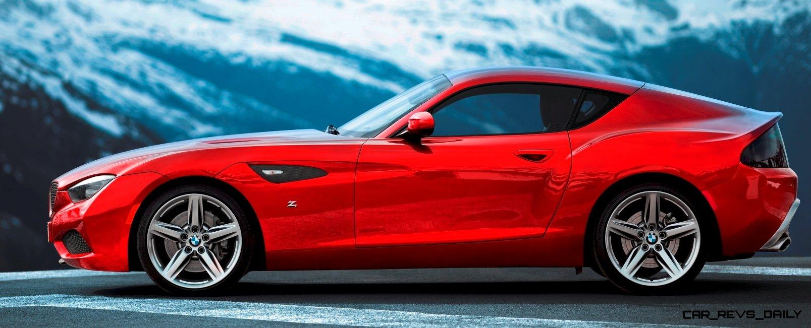 Concept Flashback: Zagato Draws A Blank Trying to Make 2012 BMW Z4 ...
