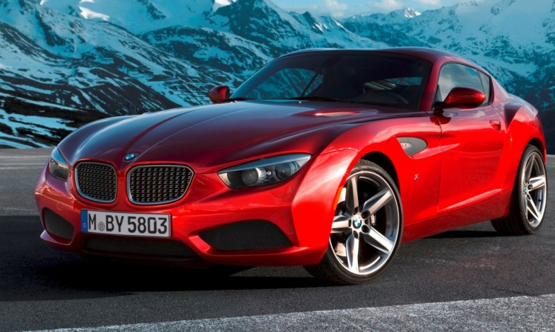 Concept Flashback Zagato Draws A Blank Trying To Make 2012 Bmw Z4 Roadster And Z4 Coupes Sexy Again