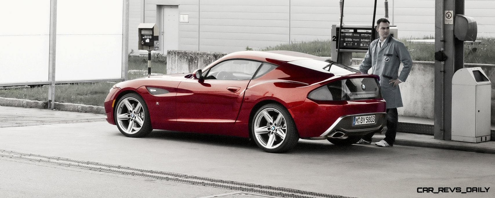 Concept Flashback - 2012 BMW Zagato Z4 Roadster and Coupe 3