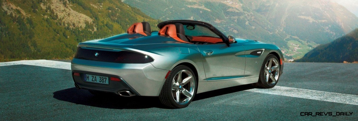 Concept Flashback 2012 Bmw Zagato Z4 Roadster And Coupe 38