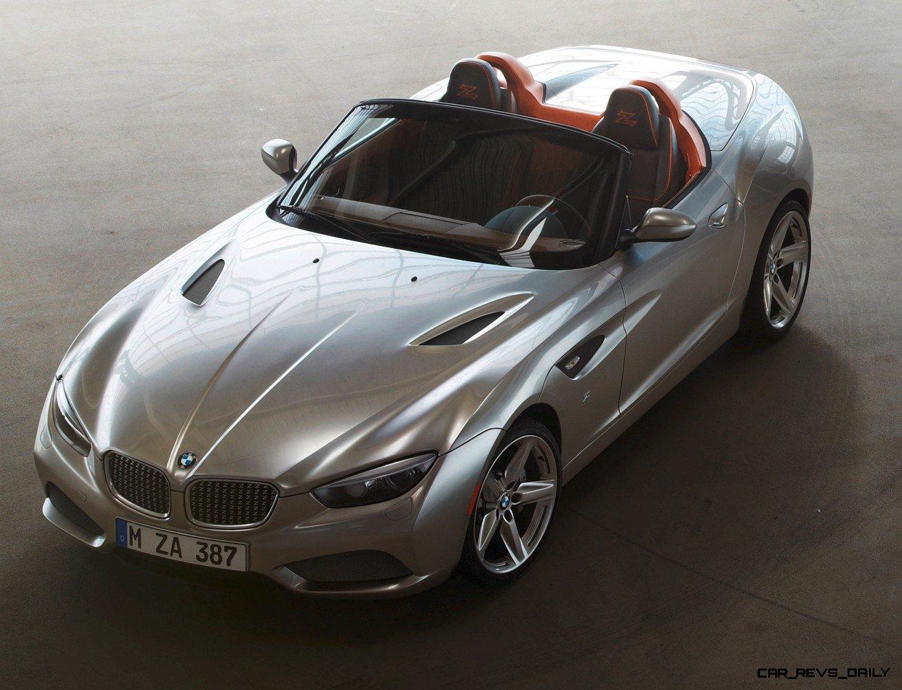 2012 Bmw Zagato Roadster Concept (48 Images) - HD Car Wallpaper