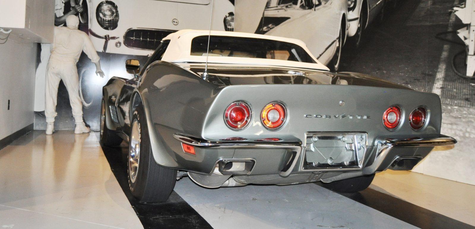Corvette Museum Photo Tour -- The C1, C2 and C3 Generations in 83 High-Res Photos 83
