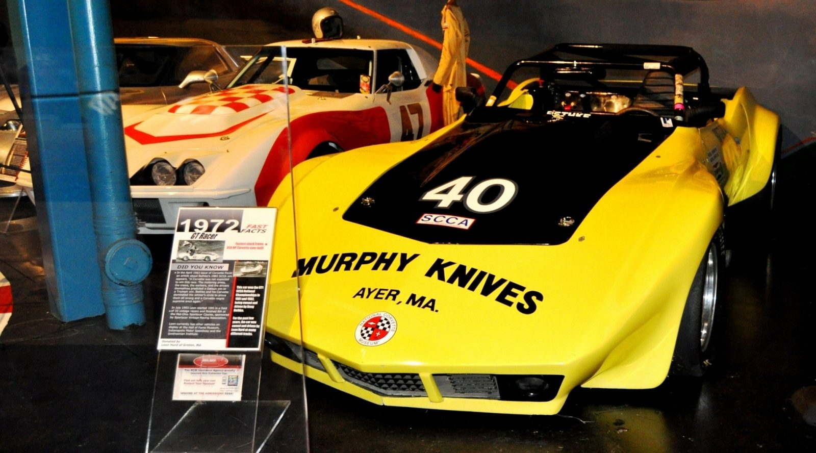Corvette Museum -- The Racecars! 58 High-Res Photos -- Plus NCM Motorsports Park A High-Speed Dream 1