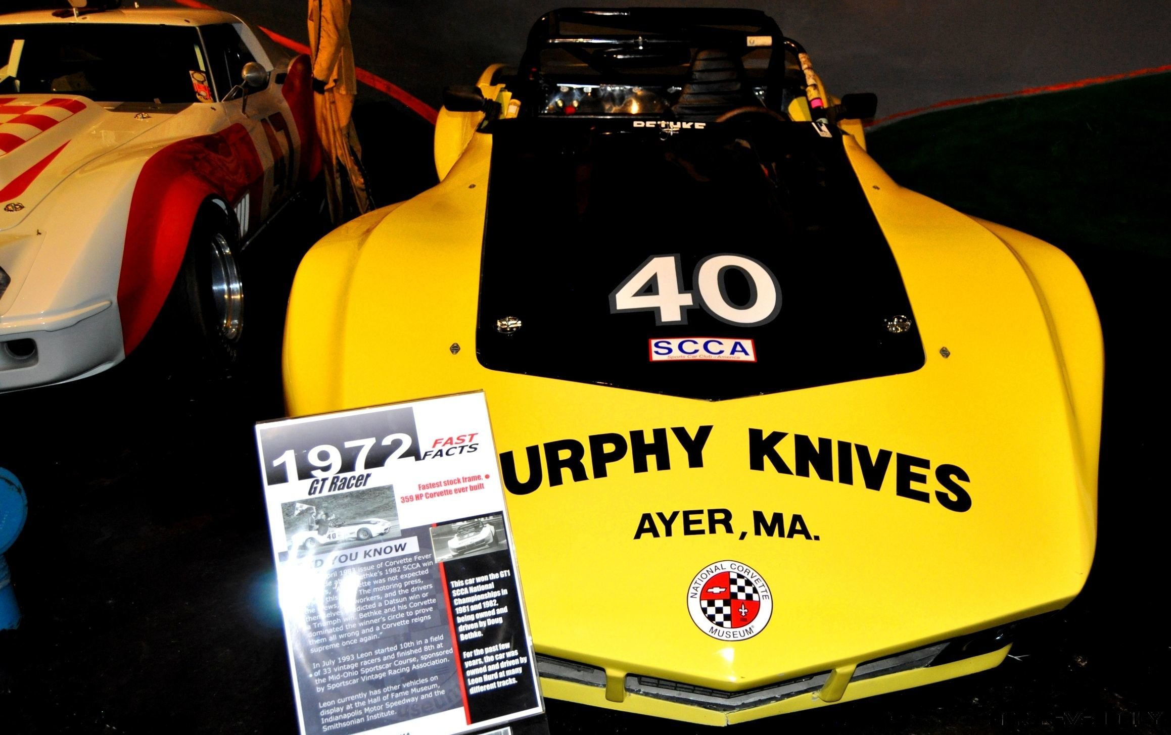 Corvette Museum -- The Racecars! 58 High-Res Photos -- Plus NCM Motorsports Park A High-Speed Dream 2