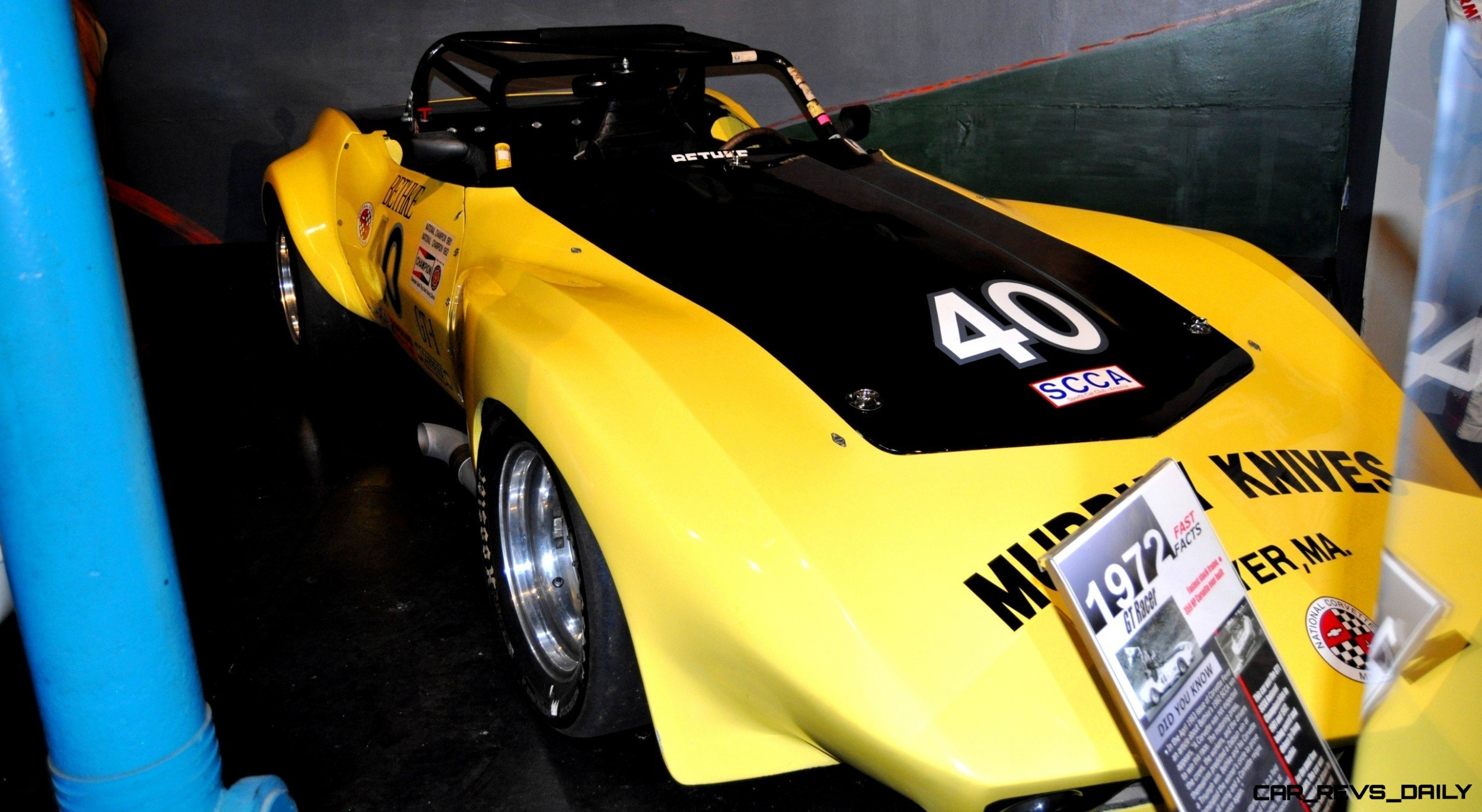 Corvette Museum -- The Racecars! 58 High-Res Photos -- Plus NCM Motorsports Park A High-Speed Dream 3