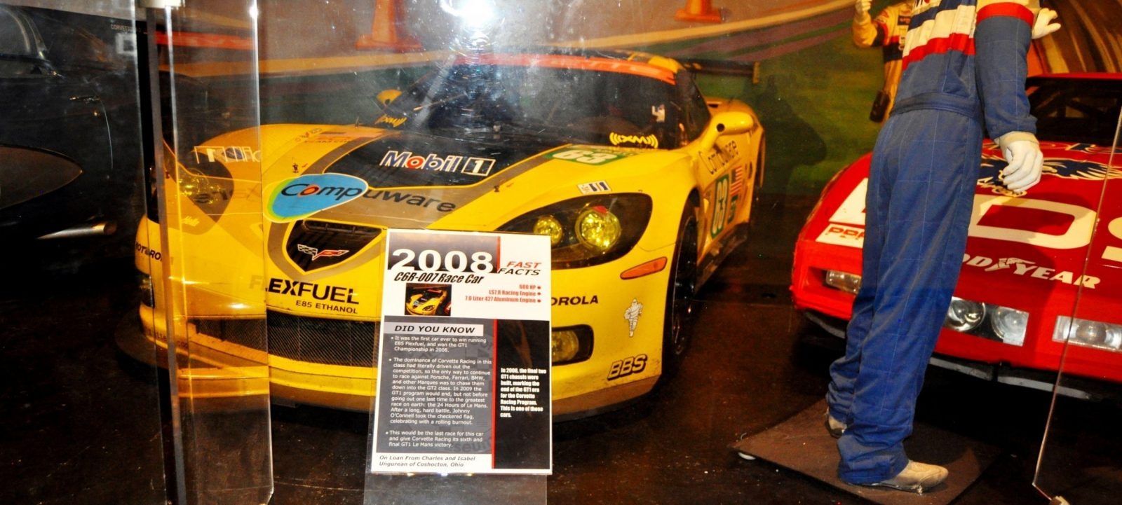 Corvette Museum -- The Racecars! 58 High-Res Photos -- Plus NCM Motorsports Park A High-Speed Dream 33