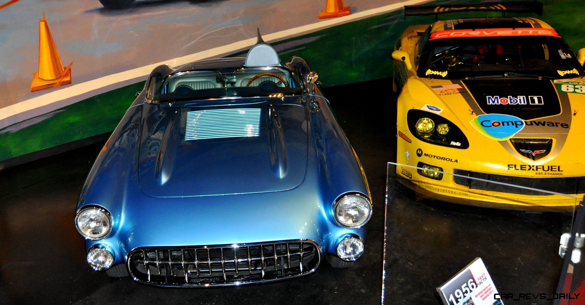 Corvette Museum -- The Racecars! 58 High-Res Photos -- Plus NCM Motorsports Park A High-Speed Dream 37
