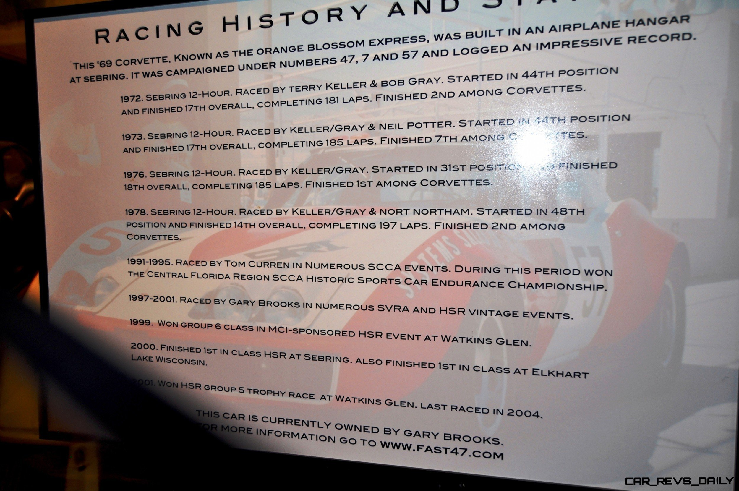 Corvette Museum -- The Racecars! 58 High-Res Photos -- Plus NCM Motorsports Park A High-Speed Dream 4