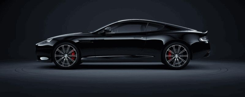 DB9 Carbon Coupe GIF
