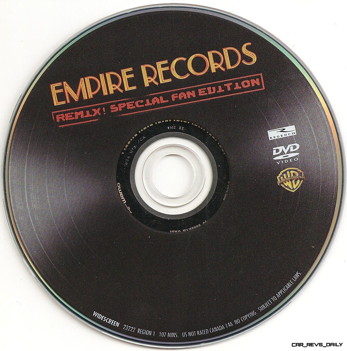 Empire Records album cover 1995 Warner Brothers Entertainment