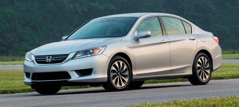 Exteriors - 2014 Honda Accord EX-L Hybrid 2 GIF