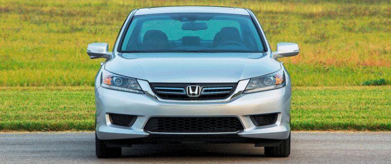 Exteriors - 2014 Honda Accord EX-L Hybrid GIF