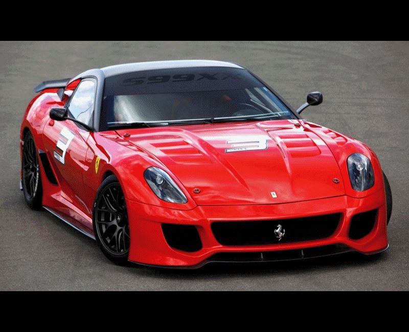 Ferrari 599XX Heading to Paris for RM Auctions in Feb 2014 Animated GIF