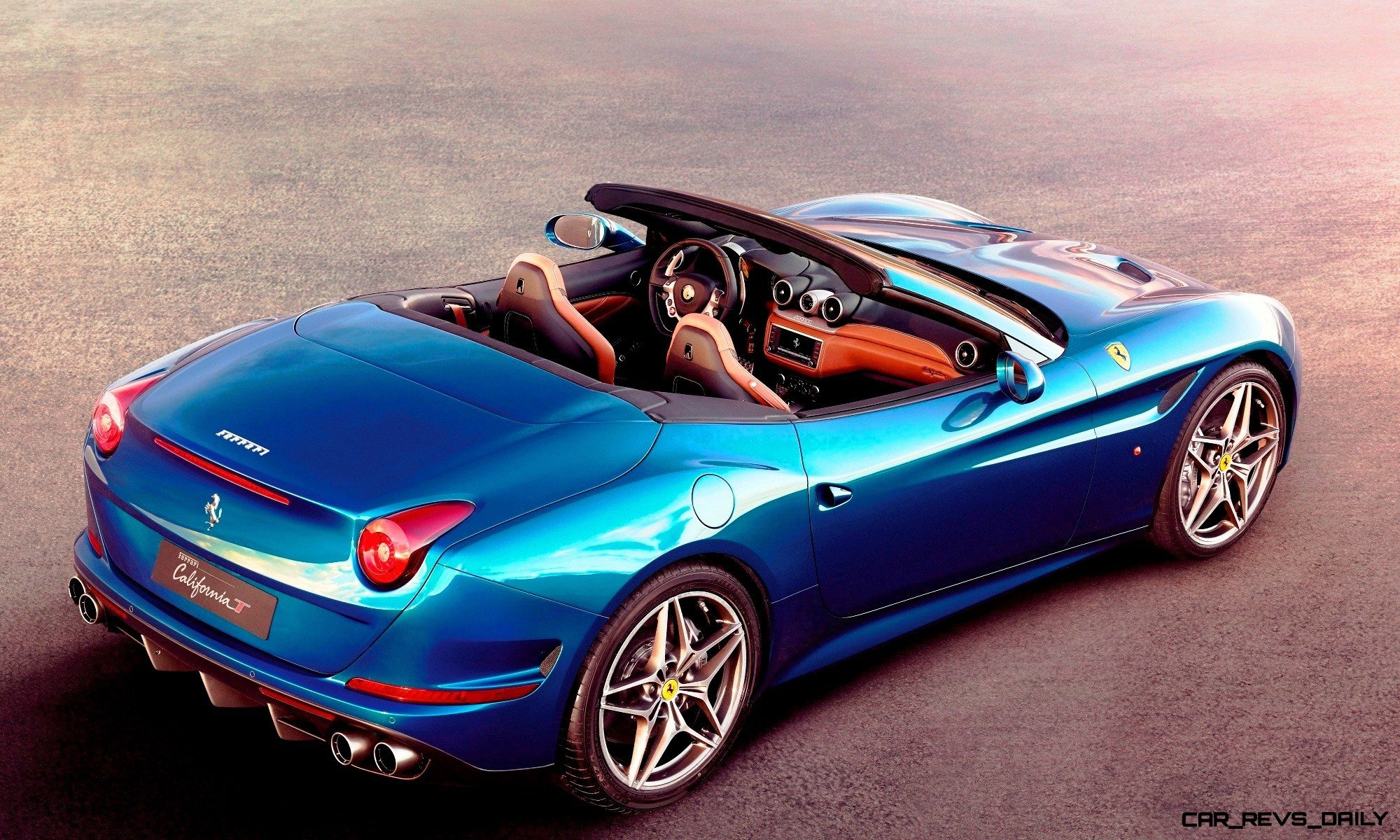 Ferrari Goes Turbo Geneva bound California T Cabrio Packing 577Lb