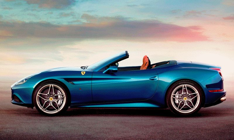Ferrari Goes Turbo -- Geneva-bound California T Cabrio Packing 577Lb-Ft of Hissing Boost GIF
