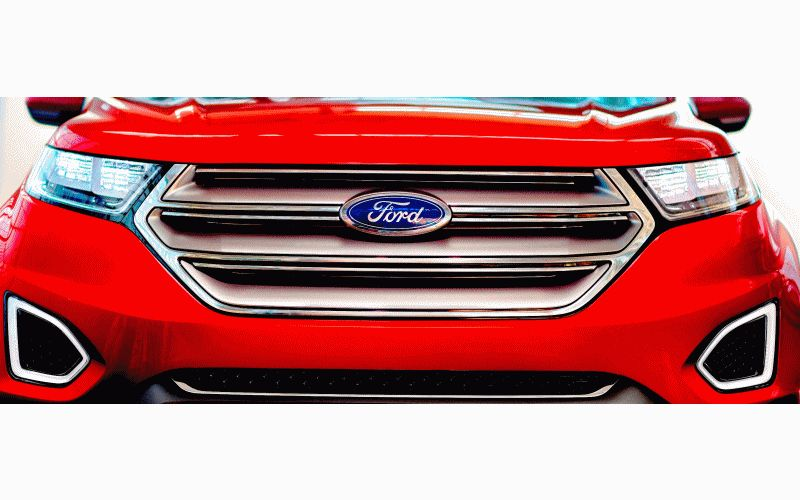 Ford Edge Concept GIF