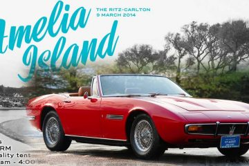 RM Auctions Lands 1971 Maserati Ghibli Spyder for Amelia 2014