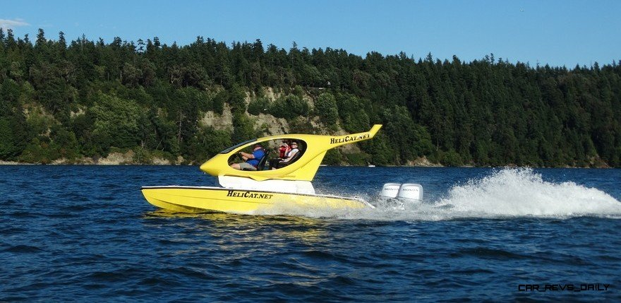 Helicat22 At Miami Boat Show -- Twin-Engine Catamaran is