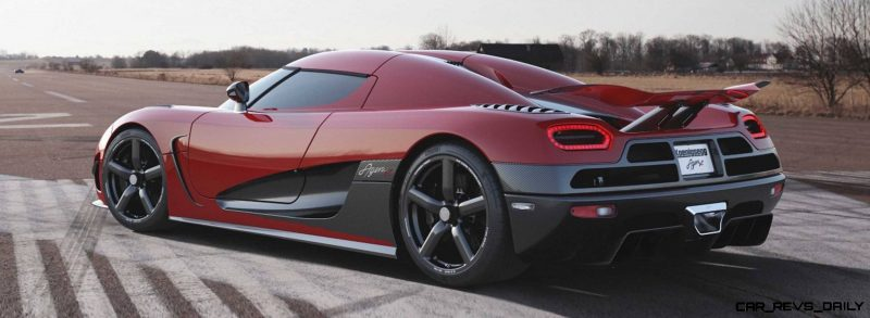 Koenigsegg Agera R Adds 240HP for Potential 280MPH Vmax of Generva-bound One1 Edition31