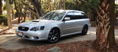 My Car In Detailed Turntable Animations + 30 Photos -- 2006 Subaru Legacy GT Limited  1