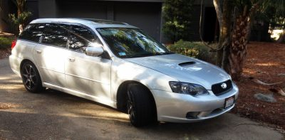 My Car In Detailed Turntable Animations + 30 Photos -- 2006 Subaru Legacy GT Limited 10