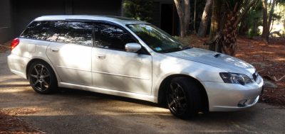 My Car In Detailed Turntable Animations + 30 Photos -- 2006 Subaru Legacy GT Limited  11