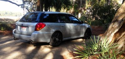 My Car In Detailed Turntable Animations + 30 Photos -- 2006 Subaru Legacy GT Limited  16