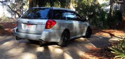 My Car In Detailed Turntable Animations + 30 Photos -- 2006 Subaru Legacy GT Limited 17