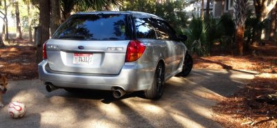 My Car In Detailed Turntable Animations + 30 Photos -- 2006 Subaru Legacy GT Limited  18