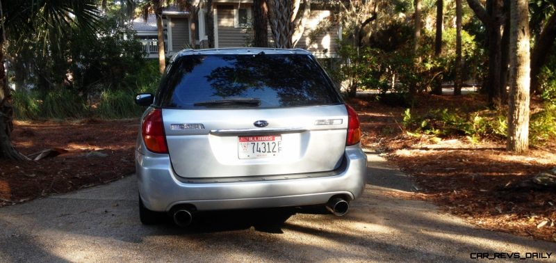 My Car In Detailed Turntable Animations + 30 Photos -- 2006 Subaru Legacy GT Limited  20