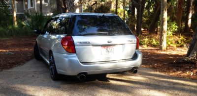 My Car In Detailed Turntable Animations + 30 Photos -- 2006 Subaru Legacy GT Limited  21