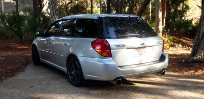 My Car In Detailed Turntable Animations + 30 Photos -- 2006 Subaru Legacy GT Limited 22