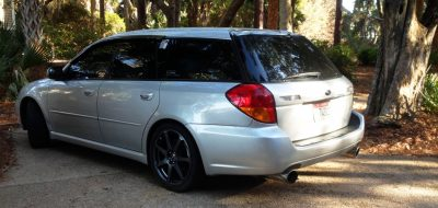 My Car In Detailed Turntable Animations + 30 Photos -- 2006 Subaru Legacy GT Limited  23