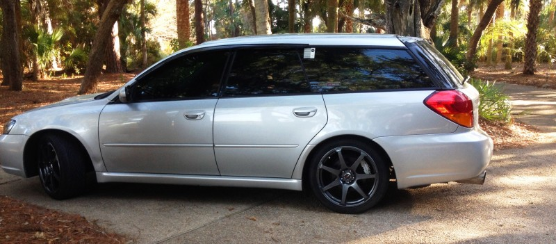 My Car In Detailed Turntable Animations + 30 Photos -- 2006 Subaru Legacy GT Limited 25