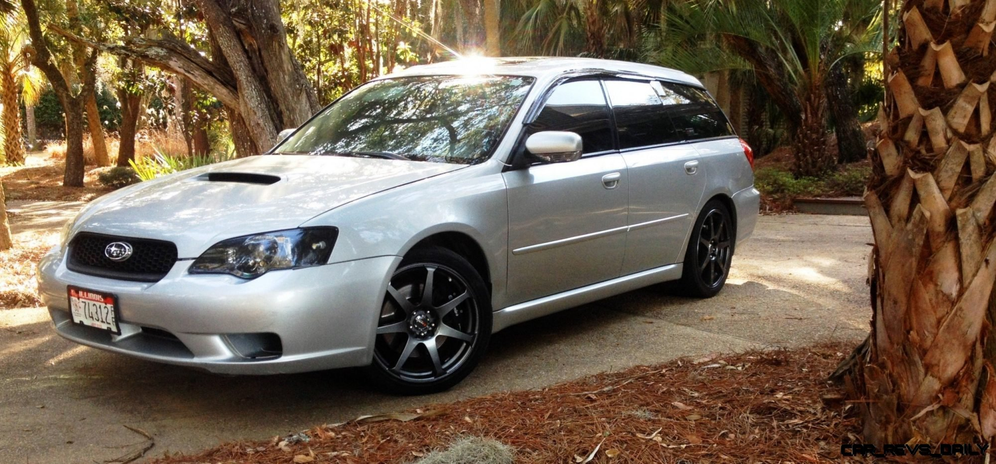 My Car In Detailed Turntable Animations + 30 Photos -- 2006 Subaru Legacy GT Limited  3
