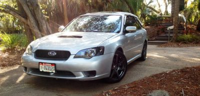 My Car In Detailed Turntable Animations + 30 Photos -- 2006 Subaru Legacy GT Limited 4