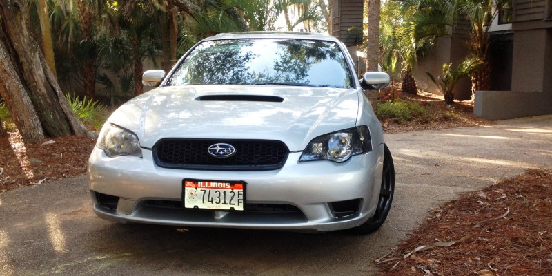 My Car In Detailed Turntable Animations + 30 Photos -- 2006 Subaru Legacy GT Limited 5