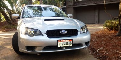 My Car In Detailed Turntable Animations + 30 Photos -- 2006 Subaru Legacy GT Limited 7