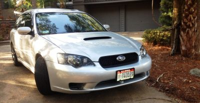 My Car In Detailed Turntable Animations + 30 Photos -- 2006 Subaru Legacy GT Limited 8