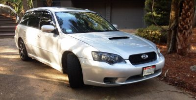 My Car In Detailed Turntable Animations + 30 Photos -- 2006 Subaru Legacy GT Limited 9